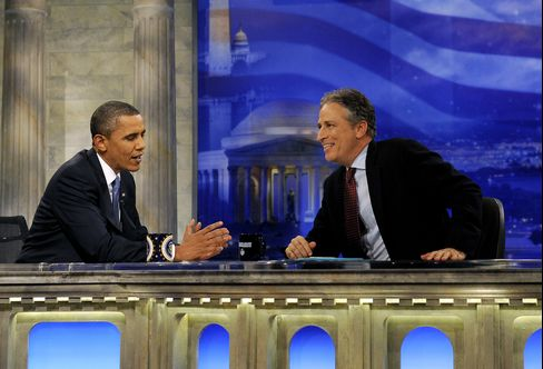 Obama Makes Pitch to Young Voters on 'Daily Show'