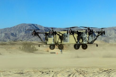 The Truck-Helicopter Hybrid Takes Flight