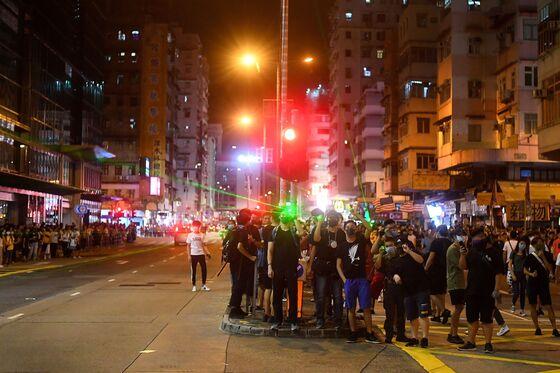 China Traders Love Sinking Hong Kong Stocks as Protests Rage