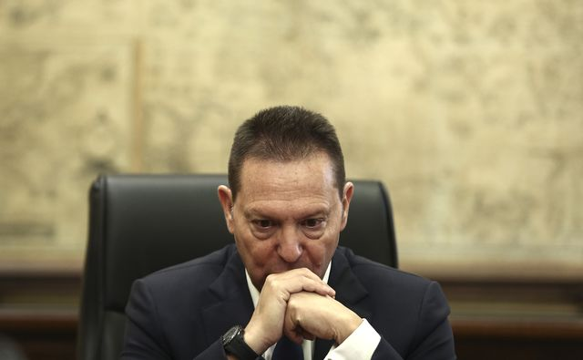 Yannis Stournaras governor of the Bank of Greece