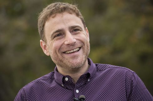 Stewart Butterfield, co-founder and chief executive officer of Slack.