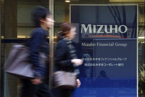 Mizuho Financial Group Inc. Headquarters in Tokyo