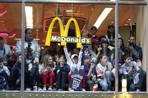As Concussions Worry Parents, NFL Blitzes Into Happy Meals
