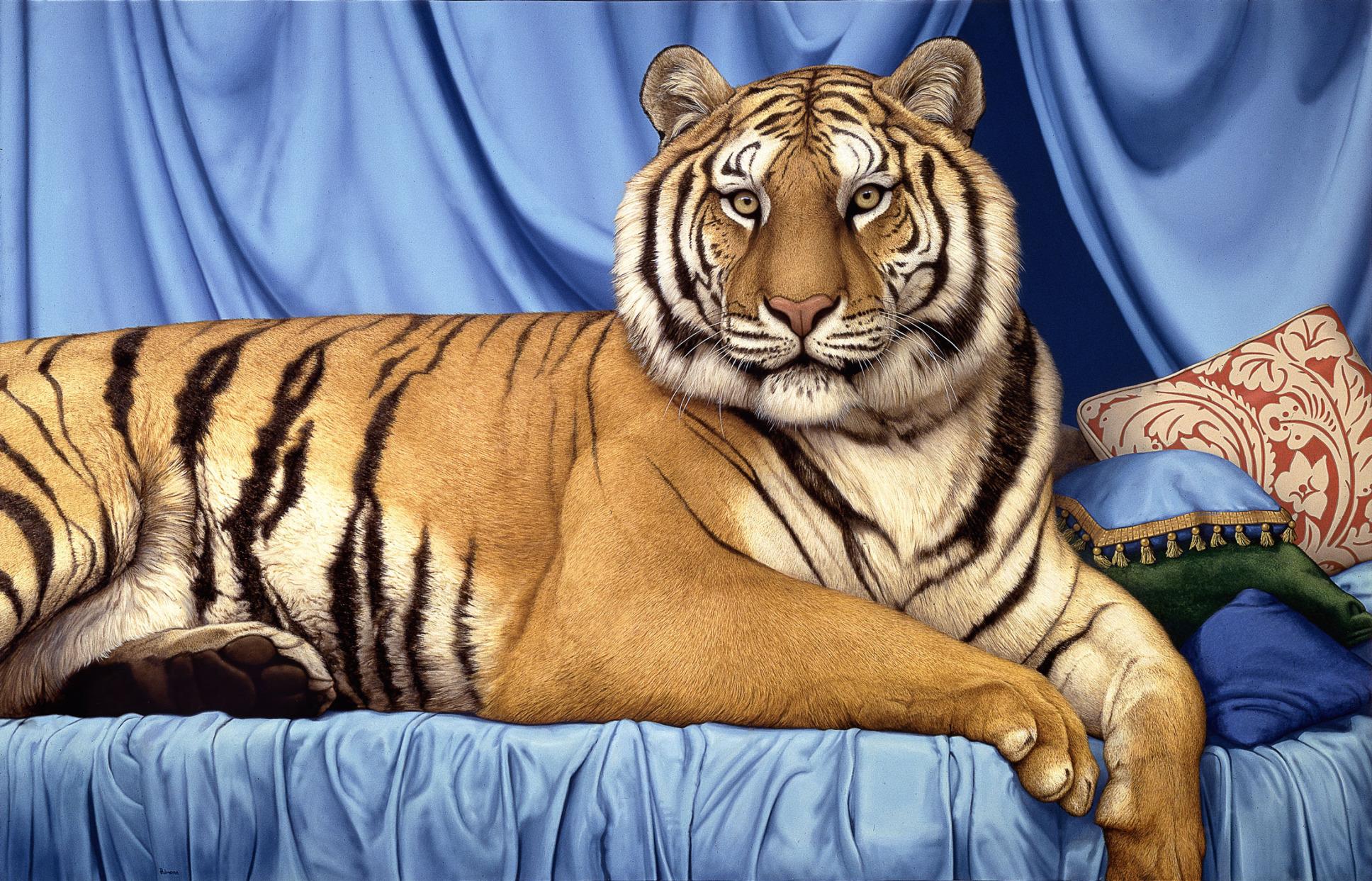 'Reclining Tiger,' 2004