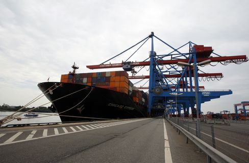 German Exports Declined in February Amid Euro-Area Recession