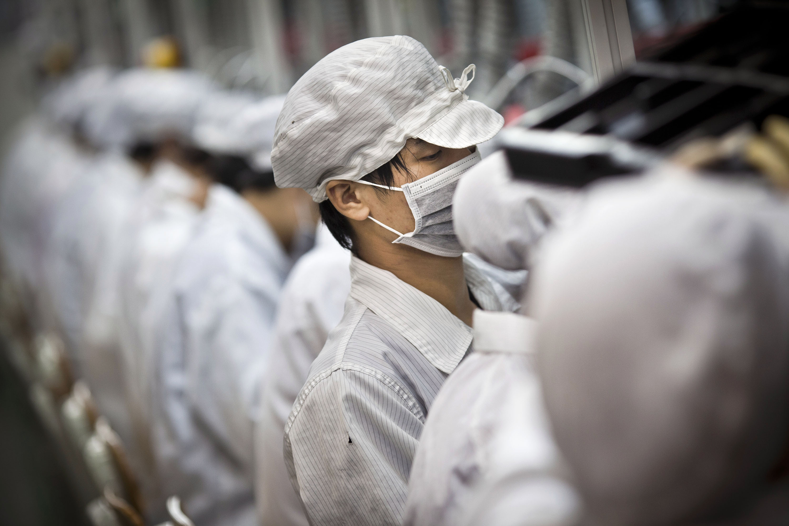 Tour Of The Foxconn Complex And Interview With CEO Terry Guo