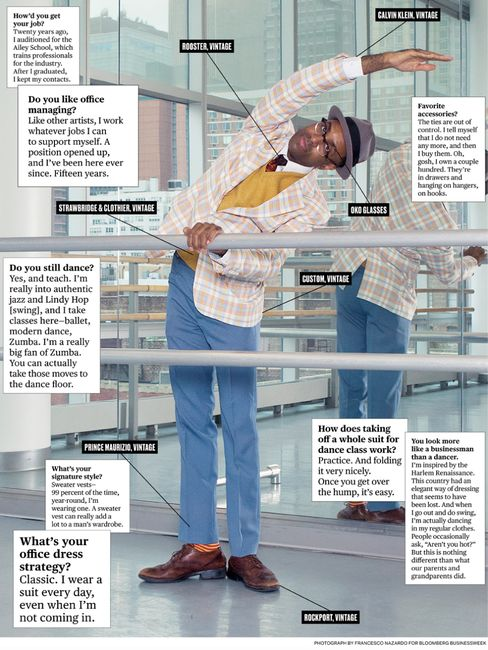What I Wear to Work: Alvin Ailey Dance Foundation's Samuel Coleman