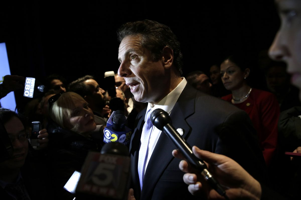 New York's Cuomo Seeks Law Labeling Mass Shootings as Terrorism