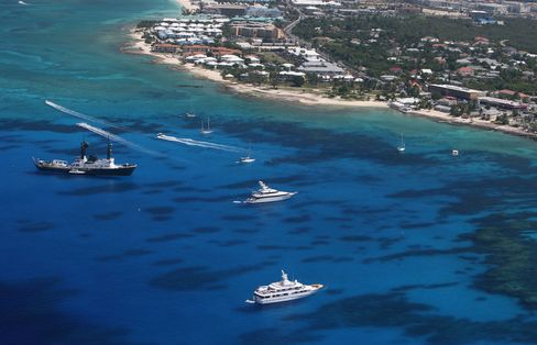 Hedge Fund Havens Weigh Taxes as Caribbean's Debt Rivals Greece