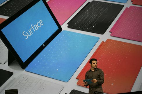 Microsoft's Surface Tablet Lacks Apps to Compete With Apple IPad