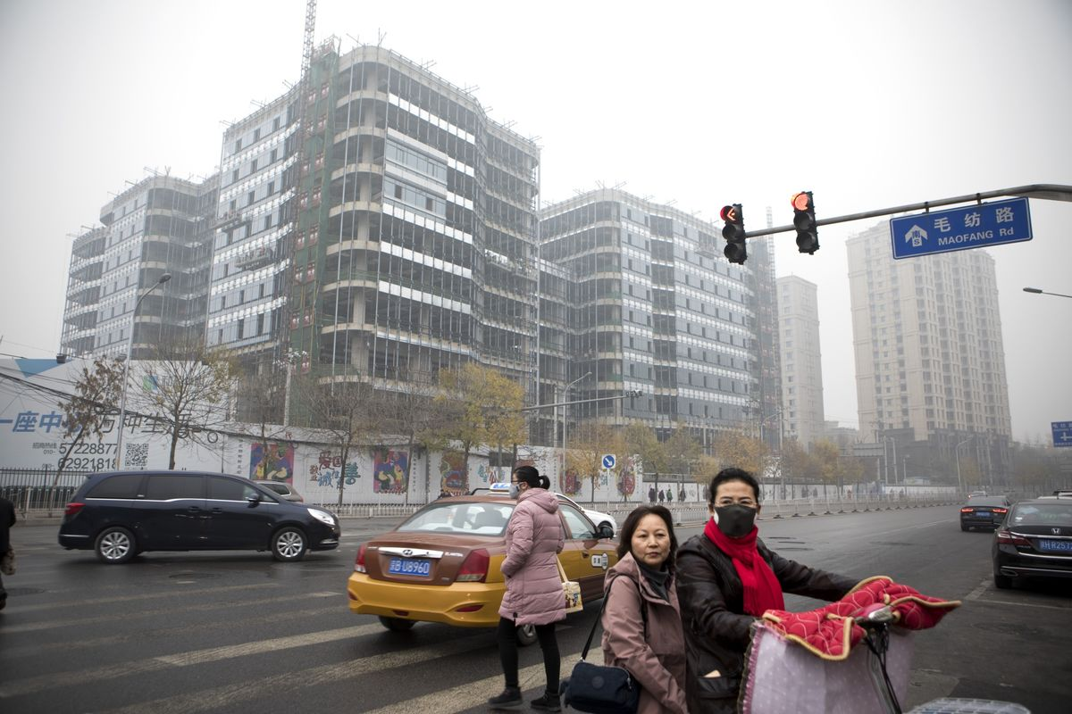 China's Attempt to Create Blue Skies for Parade May Slow Growth, Nomura Says
