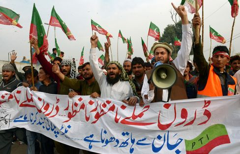 Pakistan Drone Strike Protest