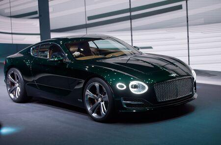 The Bentley EXP 10 Concept.