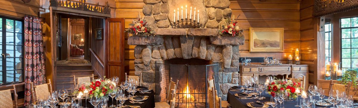 This Rockefeller Great Camp Can Be the Winter Vacation of