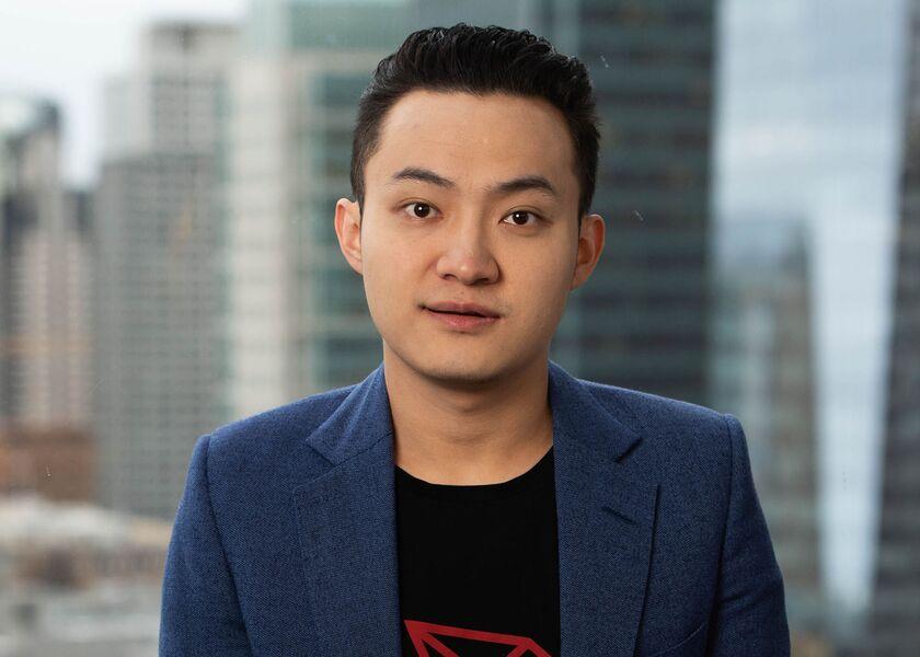 Justin Sun Peiwo HP Social