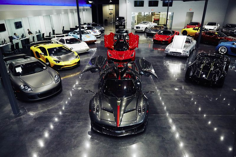 Romancing The Supercar Buyer How Luxe Car Dealers Clinch A Sale - Merit chevrolet car show