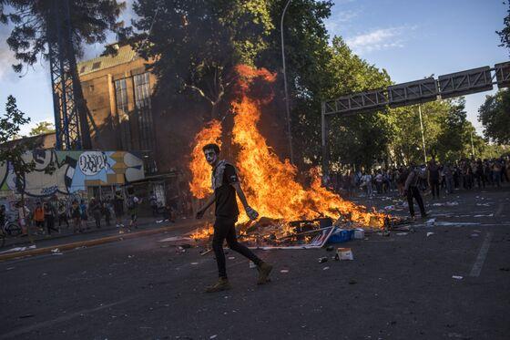 JPMorgan Says Sell Chilean Stocks Amid Worst Unrest in Decades