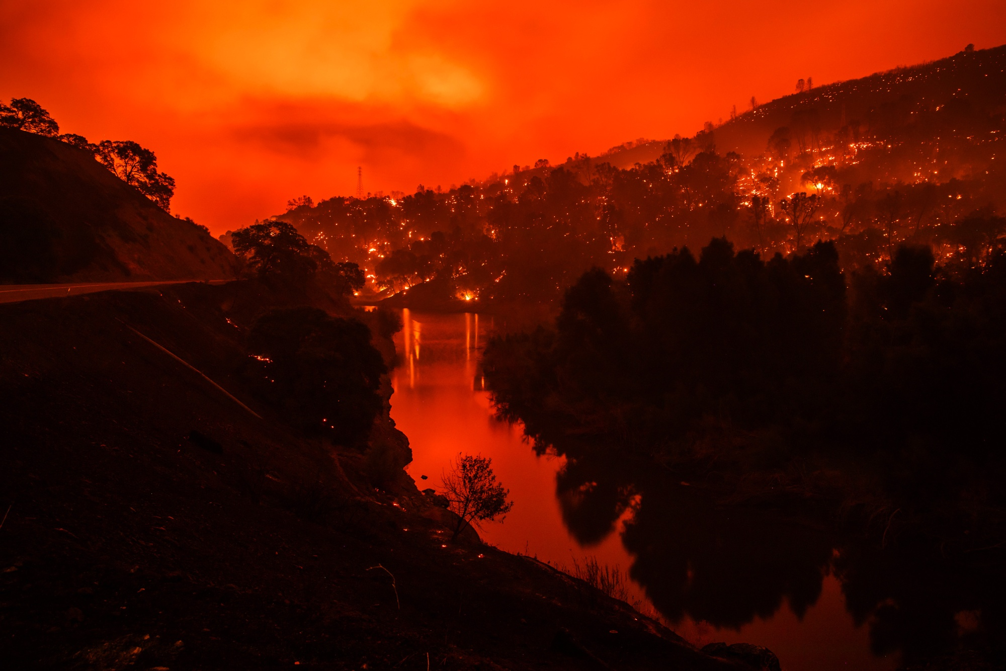 Wildfire Evacuations Force Some California Residents To Flee In Triple-digit Temperatures