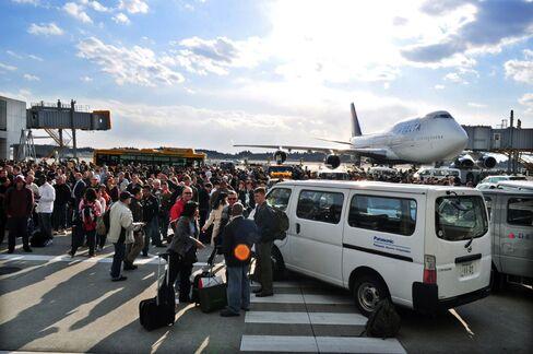 Tokyo Narita Airport Cancels All Flights Today After Quake