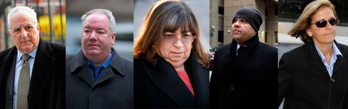 Five Former Madoff Aides