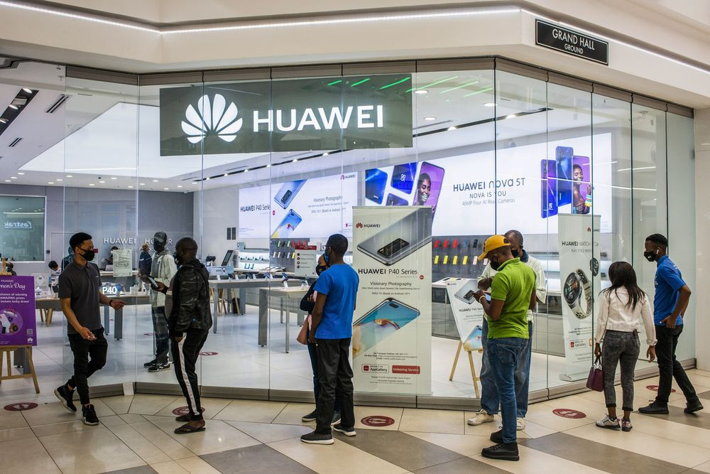 Chinese Huawei Technologies Co. Telecom Operations in Africa