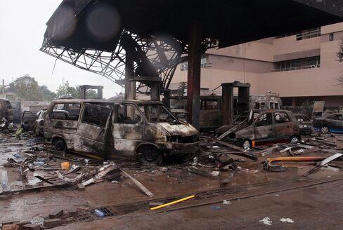 Ghana Gas Station Explosion