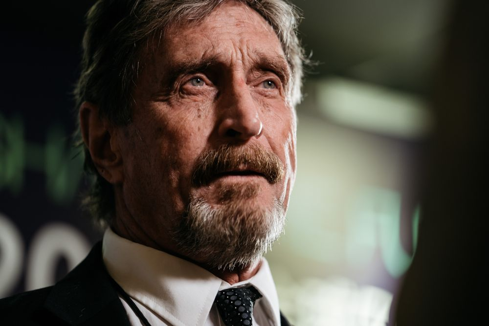 John McAfee to 'Go Dark' on Twitter, Setting Off Speculation