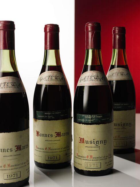 Lot 564: Musigny 1971 Domaine Georges Roumier; Côte de Nuits, Grand Cru; estimate per lot: $20,000-$30,000