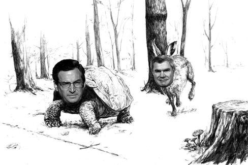 The Tortoise and the Hare: Fund Manager Edition