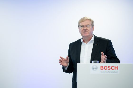 Bosch Picks Hartung as New CEO to Tackle Industry Transformation