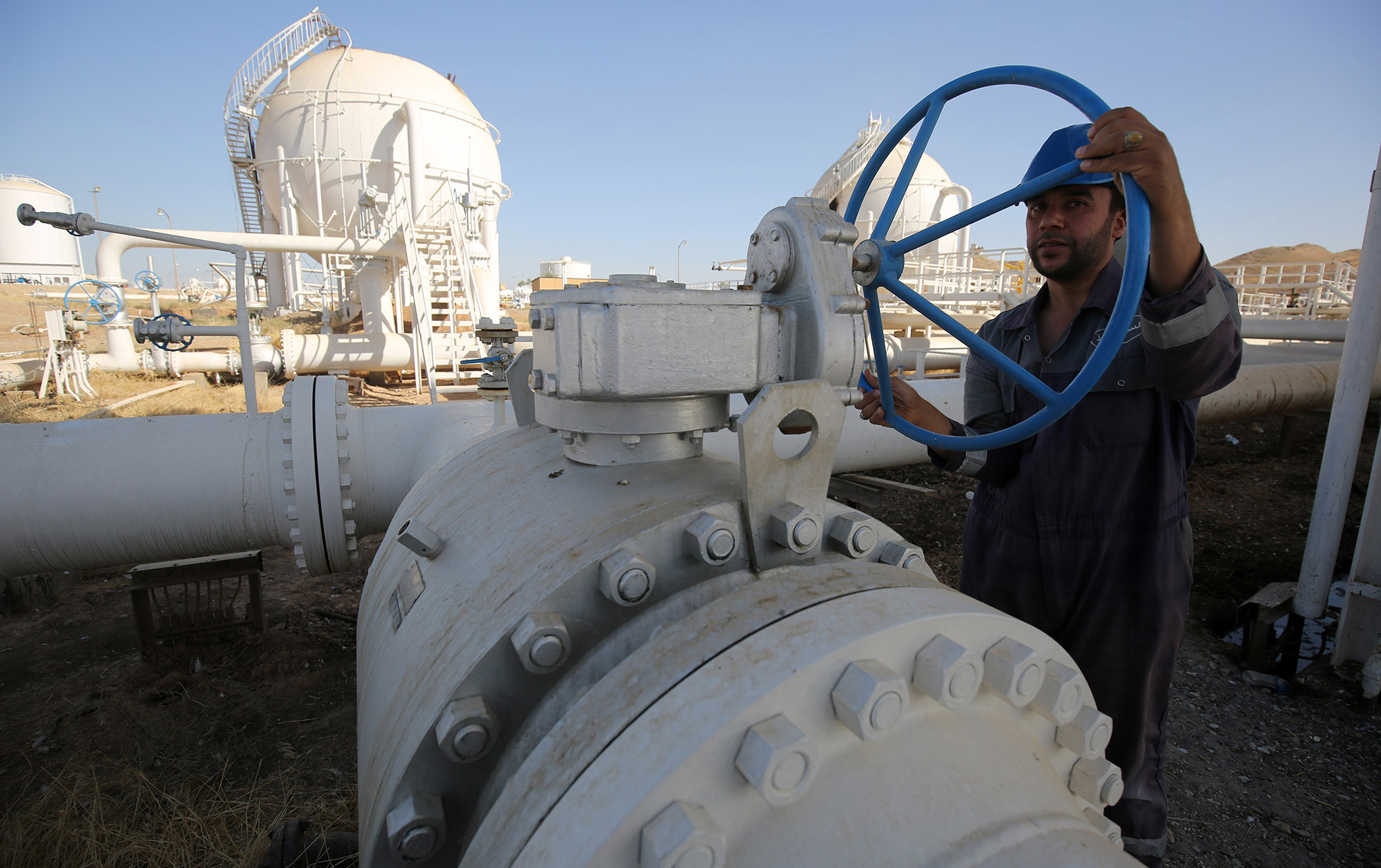Iraq expects higher demand for crude as consumers look toalternative fuels.