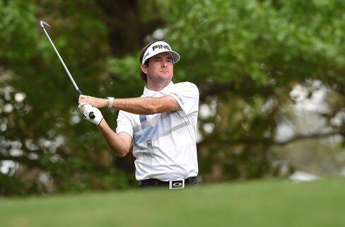 Golfer Bubba Watson