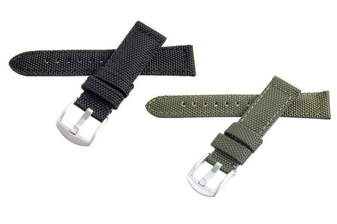 Canvas straps without all the pretentious faux-aging.