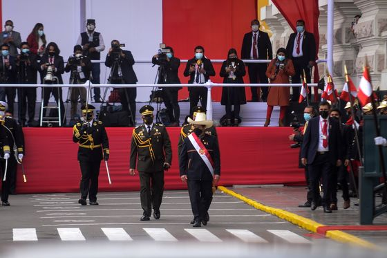 Twelve Days In Office and Crisis Swamps Peru's Leftist President
