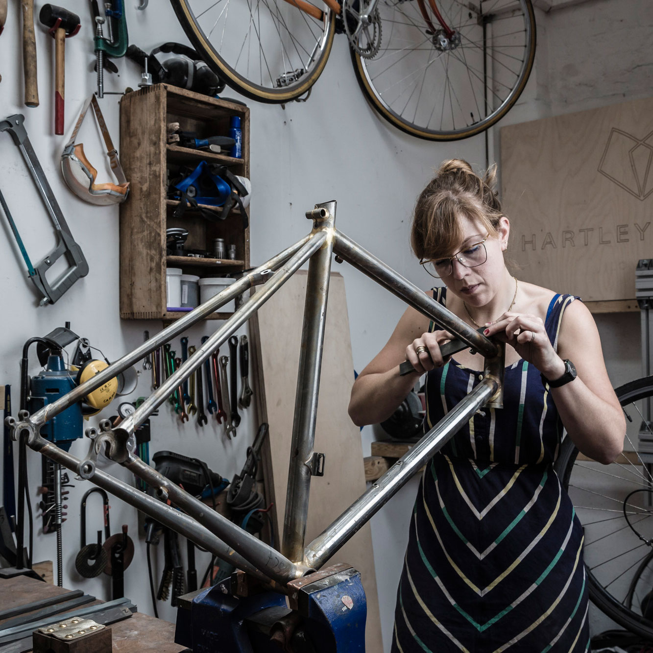 London Cycling Boom Renews Demand for Artisan Bike Builders - Bloomberg