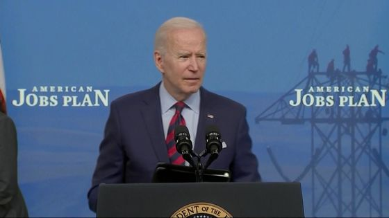 Biden Pitches Infrastructure Plan as Vital to Keep Up With China