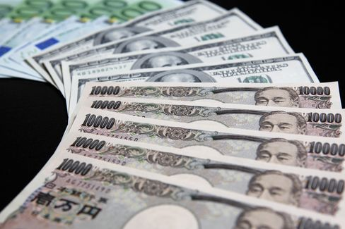 Yen Depreciates to One-Month Low on Stock Gains, Summit Optimism