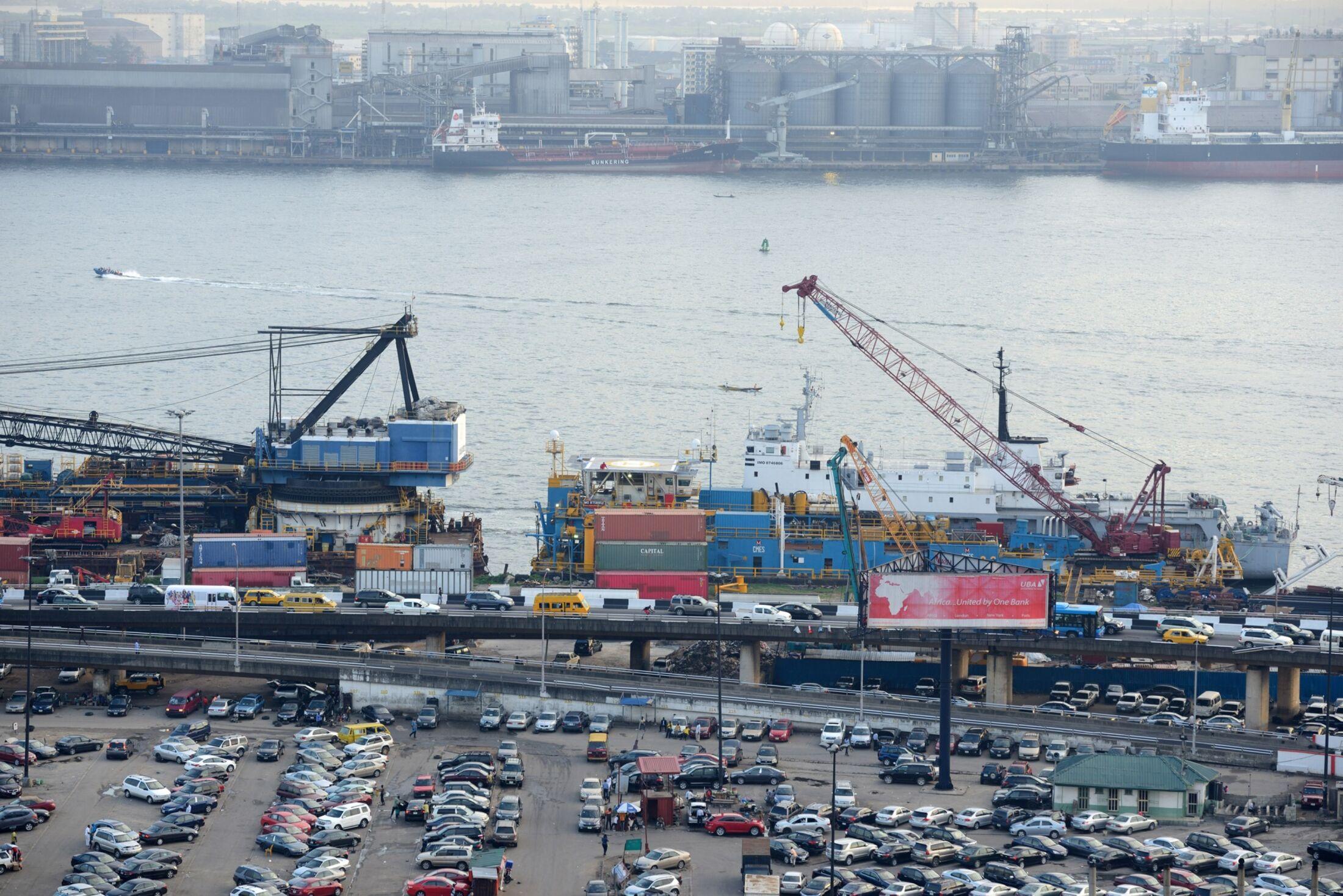 Lagos Port.