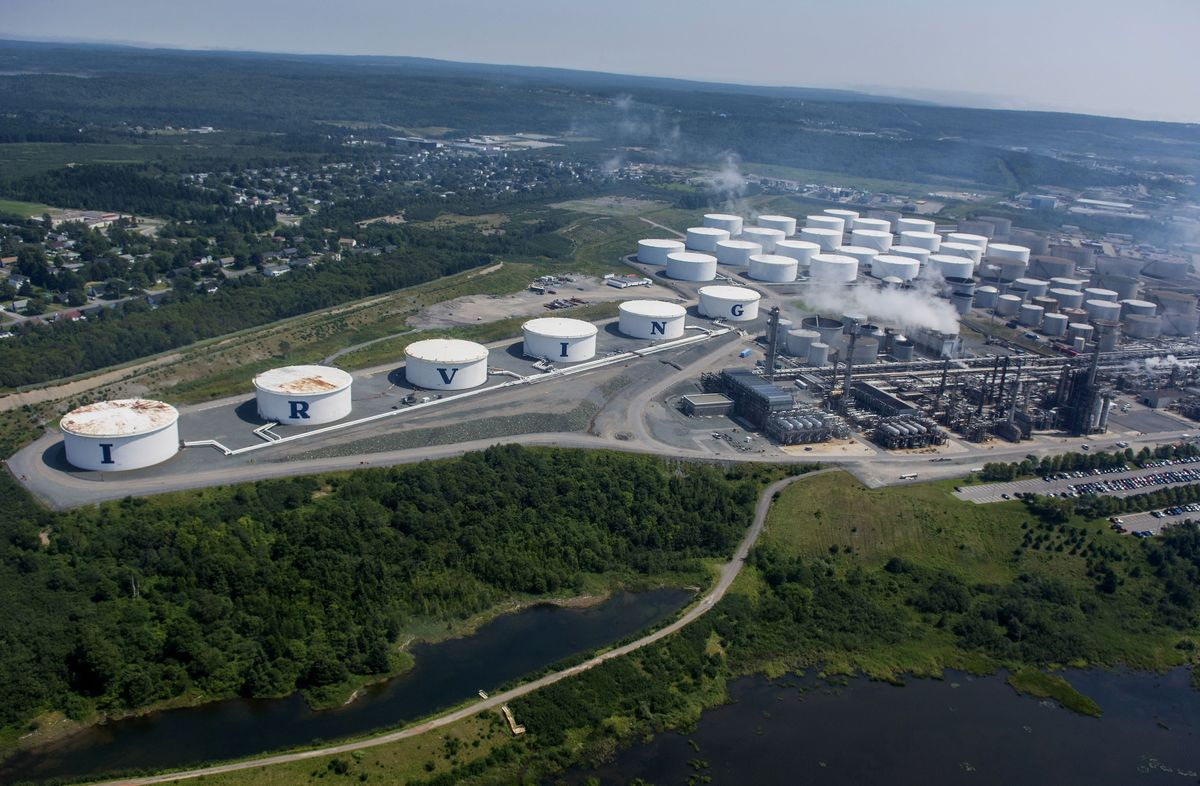 Saudi Disruption Leaves Canada's Biggest Refinery Vulnerable