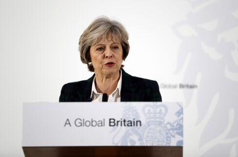 Theresa May on Jan. 17.