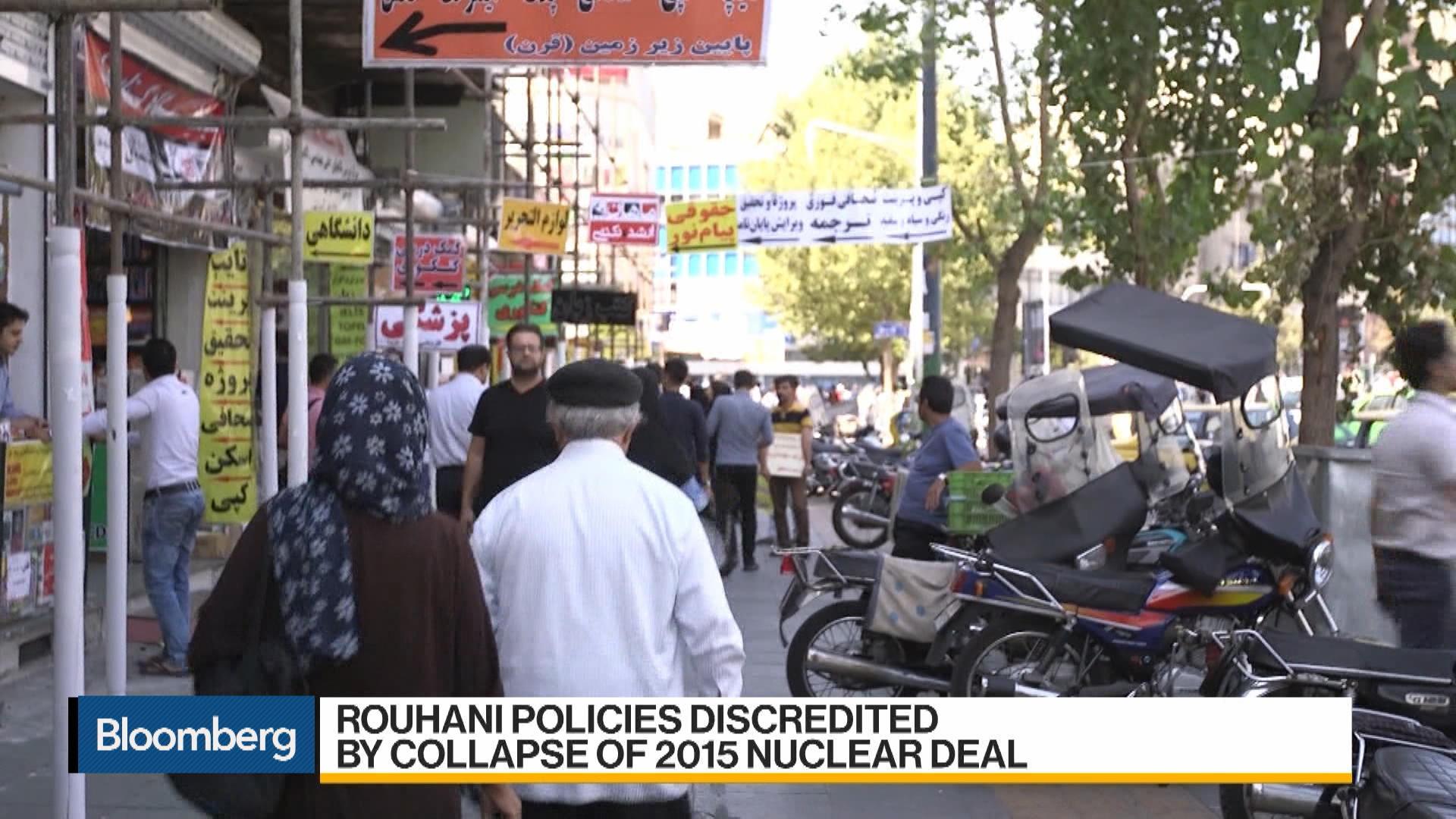 Iran Ending Bid to Join Global Economy