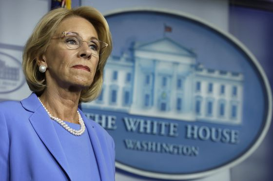 Opposition to Trump's School Plans Is a Fear Campaign, DeVos Says