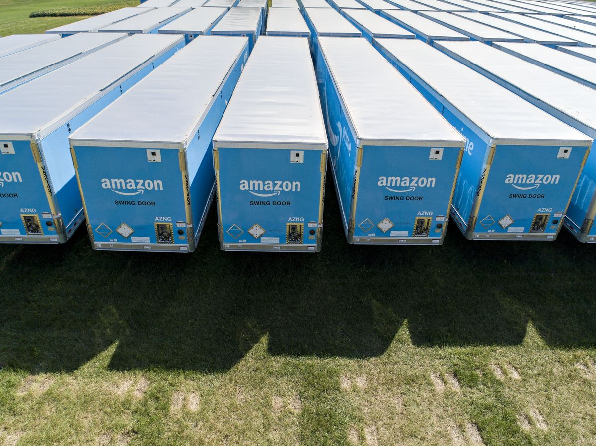 Amazon's Emissions Bigger Than Some Rivals, Trail Walmart