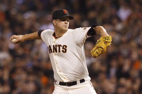 San Francisco Giant's Matt Cain