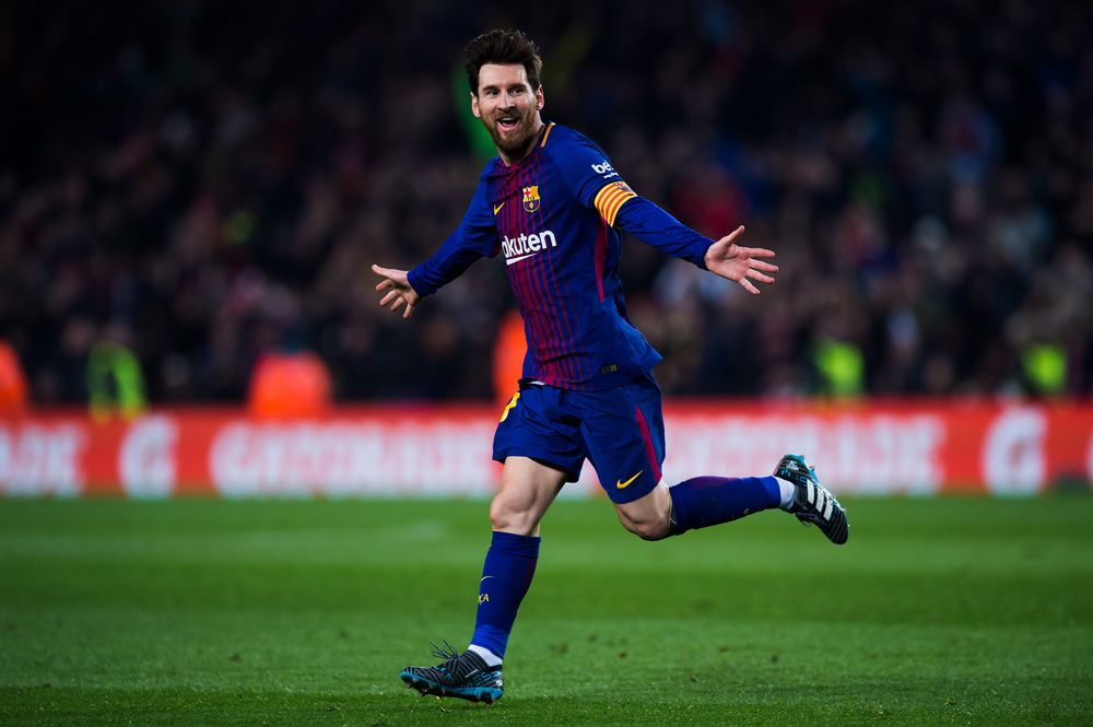 Lionel Messi Says He S Staying At Barcelona Goal Com Bloomberg