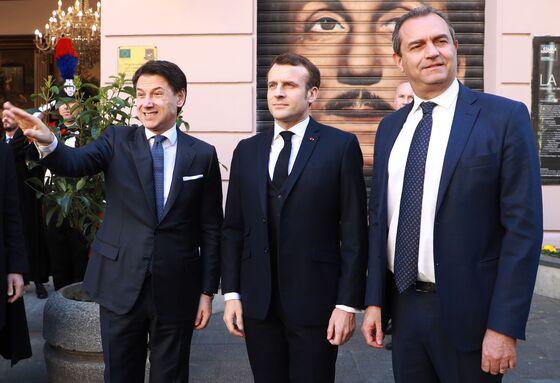 Macron, Conte Seek to Map New Course After Paris-Rome Spat