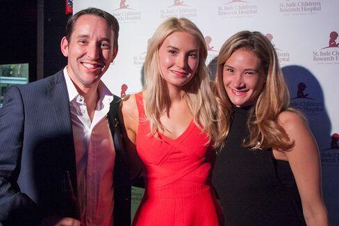 Chad Kelley (UBS), Jessica Rosner (TSSP) and Cheryl Rosney (TSSP).