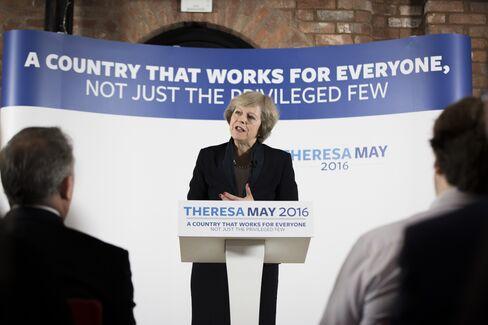 Theresa May on July 11.