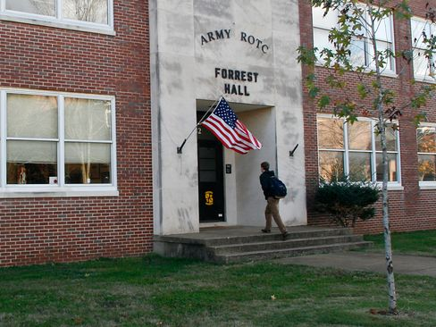 The Forrest Hall building on Middle Tennessee State University's campus in Murfreesboro, Tenn., is shown on Nov. 20, 2006.