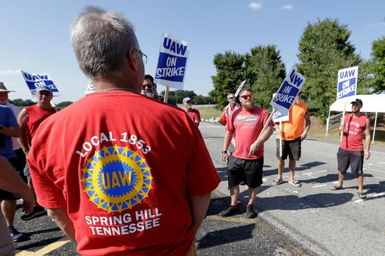 GM Strike Vote Is Going Down to Wire as One UAWLocal Rejects Deal